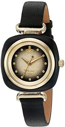 Vivienne Westwood Women's Swiss Quartz Metal and Leather Casual Watch
