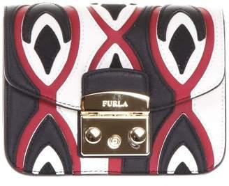 Furla Metropolis Color Block Leather Bag