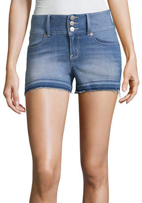 WALLFLOWER Wallflower 3 Denim Shorts-Juniors