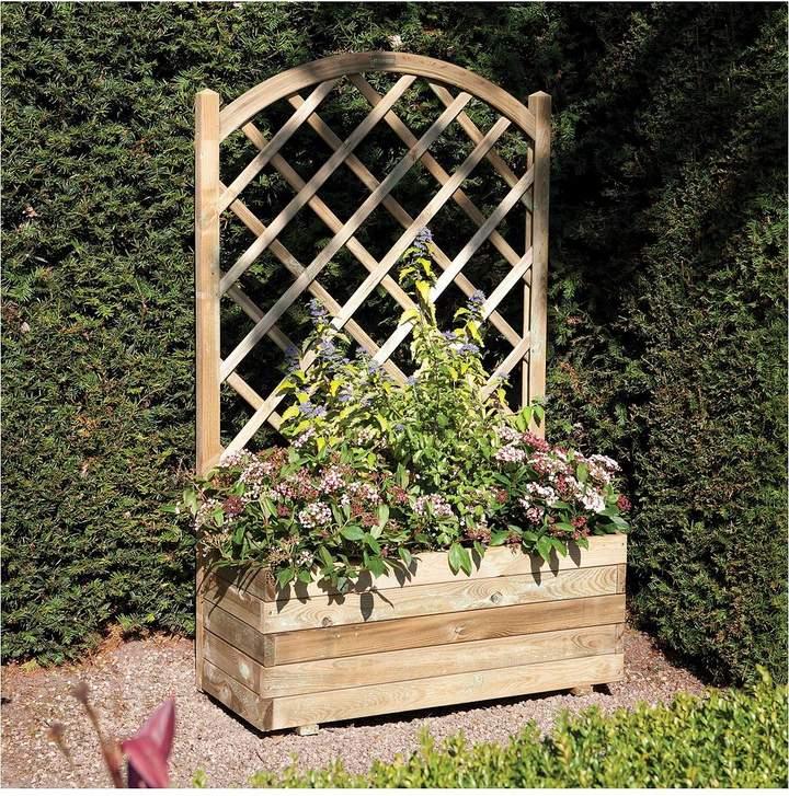 Rowlinson Rowlinson Rectangular Planter & Lattice