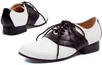 ELLIE SHOES Saddle Black/White Shoes Women's Adult Halloween Costume Accessory