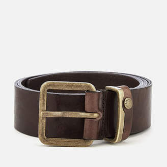 Ted Baker Men's Katchup Leather Belt - Chocolate