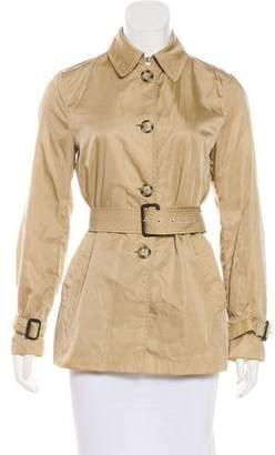 Prada Satin Belted Jacket