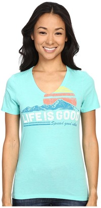 Life Is Good Spread Good Vibes Cool Vee $28 thestylecure.com