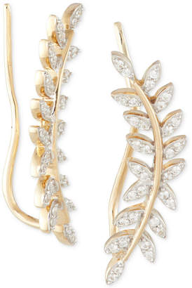 Wrapped in Love Diamond Ear Crawlers (1/5 ct. t.w.) in 14k Gold, Created for Macy's