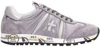 Premiata Lucy Grey Suede Sneakers