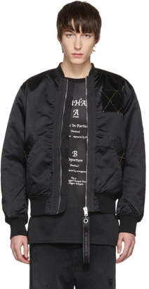Diesel Black J-West Bomber Jacket