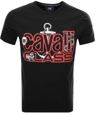 Just Cavalli Cavalli Class Anchor T Shirt Black
