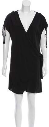 Hanley Mellon Short Sleeve Wrap Dress w/ Tags
