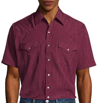 JCPenney Ely Cattleman Mens Snap Shirt
