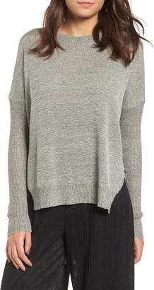 ALL IN FAVOR Split Hem Sweater