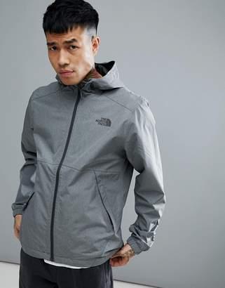 The North Face Millerton Jacket Hooded Waterproof In Grey Marl