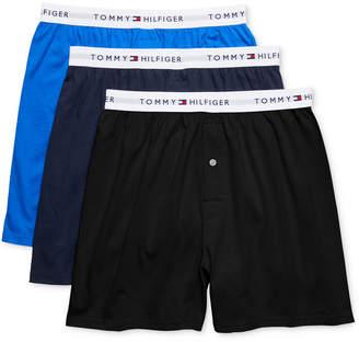 Tommy Hilfiger Men's 3-Pk. Classic Knit Cotton Boxers