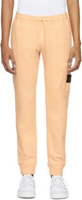 Stone Island Orange Pocket Sweatpants