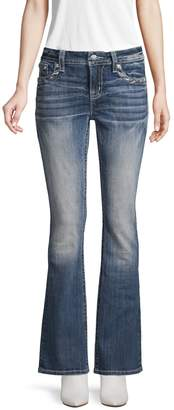 Miss Me Faded Flared Bootcut Jeans