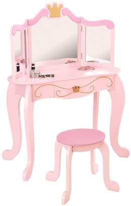Kid Kraft Princess Vanity Table & Stool