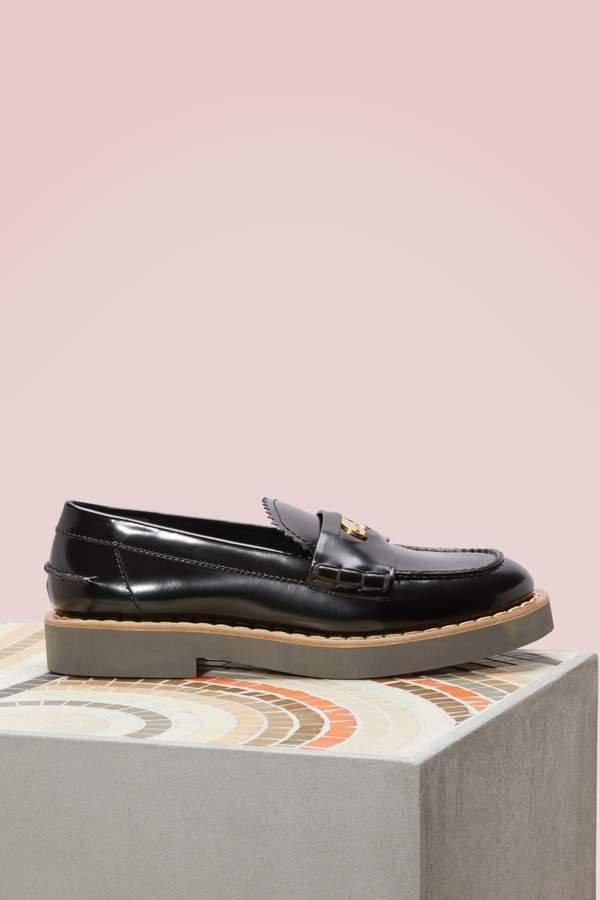 Miu Miu Patent leather loafers