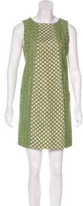 Tibi Embroidered Shift Dress