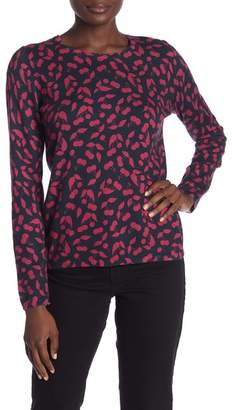 Joie Feronia Cashmere Blend Print Sweater