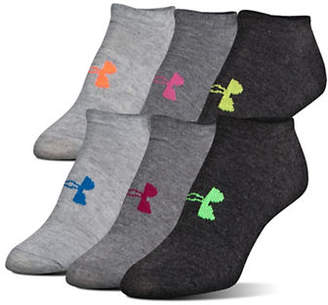 Under Armour Women's Six-Pack Essential Socks