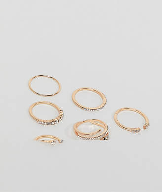 951be964c1 Aldo snake head 3 pack stackable rings