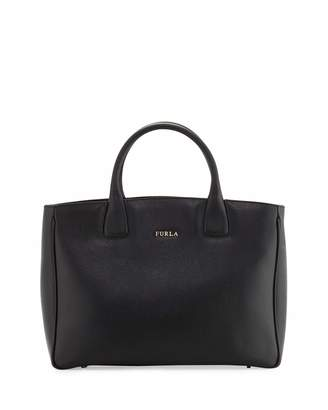 Furla Camilla Medium Leather Tote Bag, Onyx $280 thestylecure.com