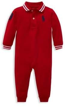 Ralph Lauren Baby Boy's Cotton Polo Coveralls