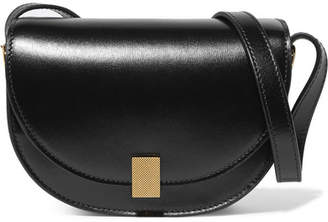 Victoria Beckham Half Moon Box Nano Leather Shoulder Bag - Black