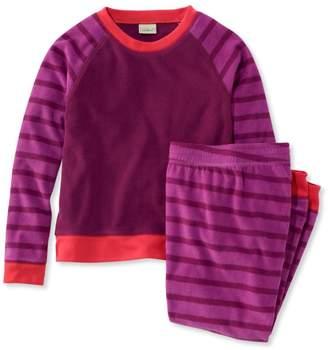 L.L. Bean L.L.Bean Kids' Cozy Fleece PJs, Stripe