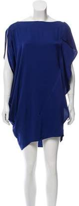 Zero Maria Cornejo Silk Mini Dress