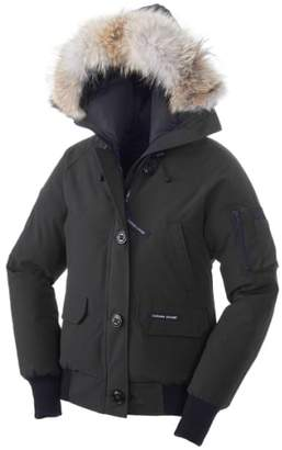 Canada Goose 'Chilliwack' Regular Fit Down Bomber Jacket with Genuine Coyote Fur