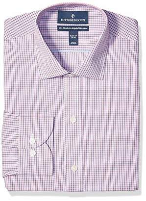 Buttoned Down Amazon Brand Men's Xtra-Slim Fit Pattern Non-Iron Dress Shirt