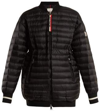 Moncler Charoite Quilted Down Jacket - Womens - Black