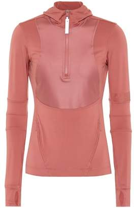 adidas by Stella McCartney Stretch jersey hoodie