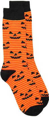 K. Bell Jack O Lantern Crew Socks - Men's