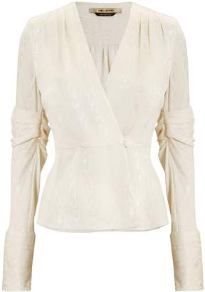 Hellessy Cassie Brocade Jacket Top