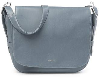 Matt & Nat Nebula Saddle Vegan Leather Crossbody Bag