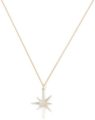 Bond Eye Bondeye Jewelry Astraea White Topaz Star Pendant Necklace