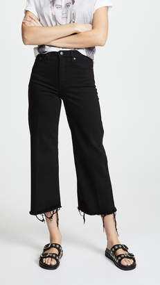 Milla Nobody Denim High Rise Wide Leg Jeans