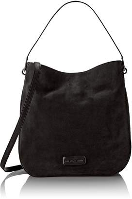 Marc by Marc Jacobs Ligero Sporty Suede Hobo Shoulder Bag
