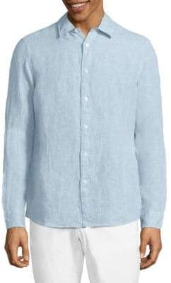 Michael Kors Regular Linen Shirt