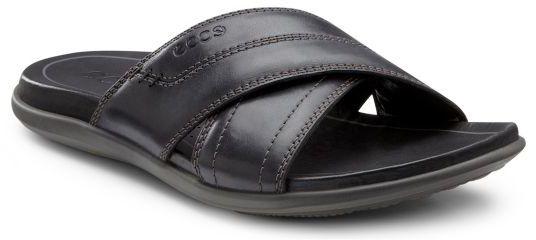 Ecco Men's Chander Cross Slide Sandals