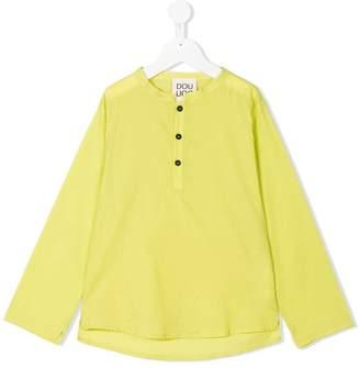 Douuod Kids mandarin collar blouse