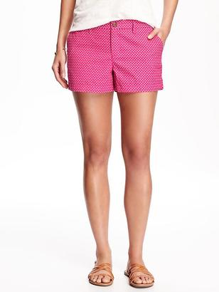 "Everyday Twill Shorts for Women (3 1/2"") $22.94 thestylecure.com"