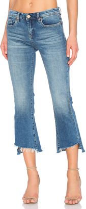 BLANKNYC Uneven Hem Straight $98 thestylecure.com