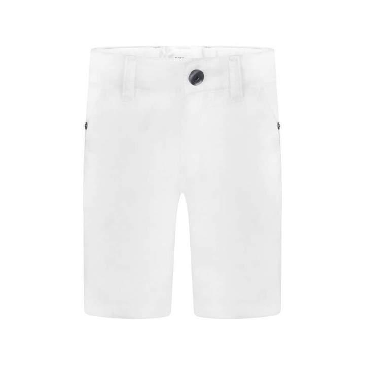 BOSS KidsBaby Boys White Cotton Shorts