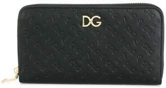 Dolce & Gabbana Love logo embossed wallet