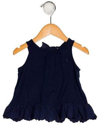 Polo Ralph Lauren Girls' Embroidered Sleeveless Dress