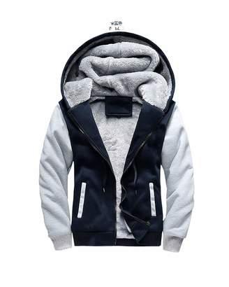 Forest-sex toys Hoodies Bomber Jacket Men New Thick Warm Fleece Zipper Coat for Mens Sportswear Tracksuit Male