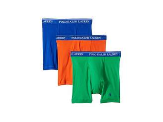 Polo Ralph Lauren Classic Fit w/ Wicking 3-Pack Boxer Briefs